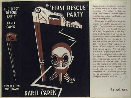 Dust Jackets - The first rescue party.