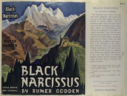 Dust Jackets - Black narcissus.