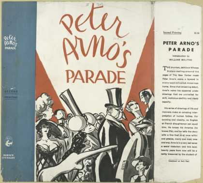 Dust Jackets - Peter Arno's parade.