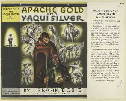 Dust Jackets - Apache gold and Yaqui sil