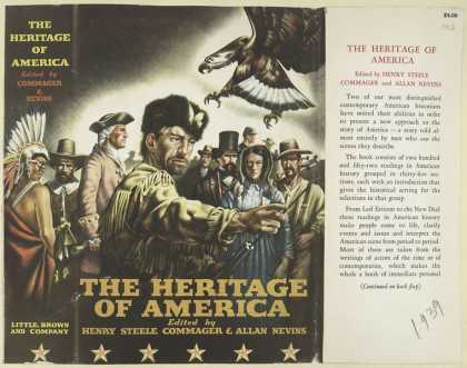 Dust Jackets - The Heritage of America.