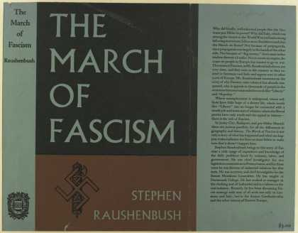 Dust Jackets - The march of fascism.