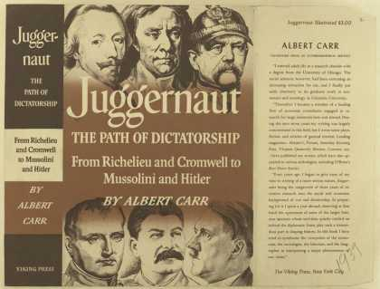 Dust Jackets - Juggernaut the path of d