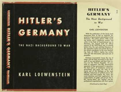 Dust Jackets - Hitler's Germany the Naz