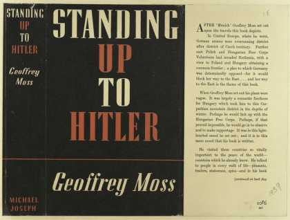 Dust Jackets - Standing up to Hitler.