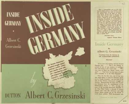 Dust Jackets - Inside Germany.