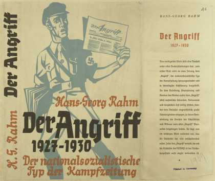 "Dust Jackets - ""Der Angriff,"""