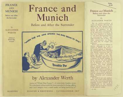 Dust Jackets - France and Munich, before