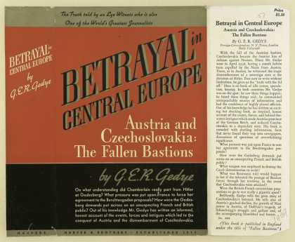 Dust Jackets - Betrayal in central Europ