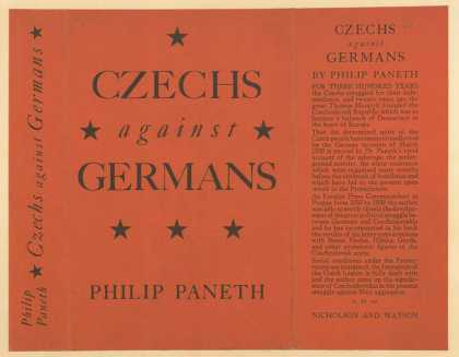 Dust Jackets - Czechs against Germans.