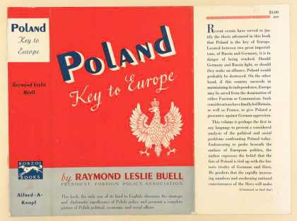 Dust Jackets - Poland: key to Europe.