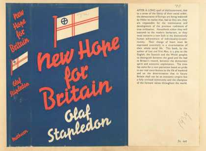 Dust Jackets - New hope for Britain.
