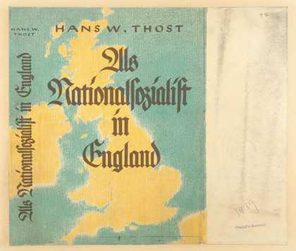 Dust Jackets - Als Nationalsozialist in