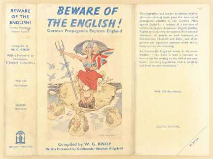 Dust Jackets - Beware of the English! Ge