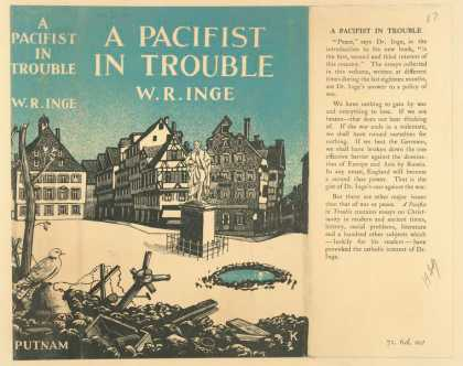 Dust Jackets - A pacifist in trouble.