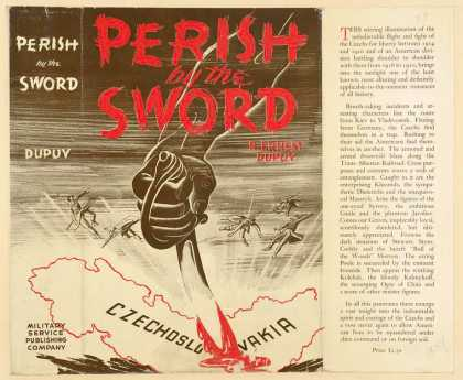Dust Jackets - Perish by the sword.