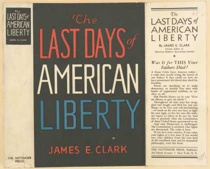 Dust Jackets - The last days of American