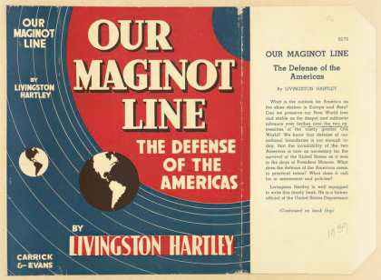 Dust Jackets - Our Maginot line the def