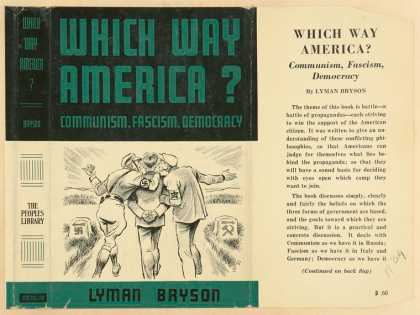 Dust Jackets - Which way America? Commun