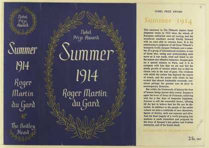 Dust Jackets - Summer, 1914 / Roger Mart