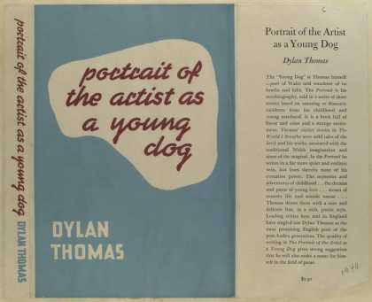 Dust Jackets - Portrait of the artist as