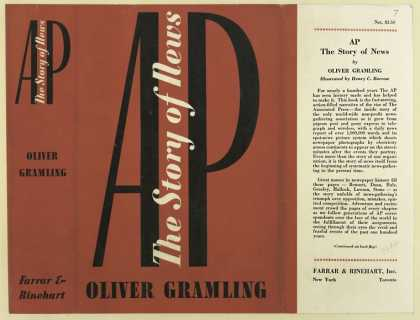 Dust Jackets - AP : the story of news /