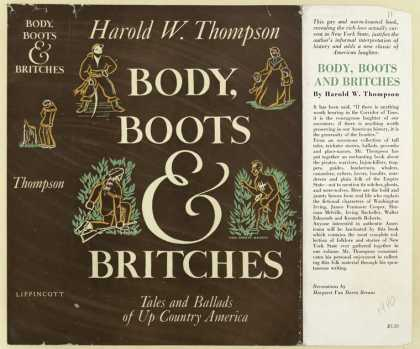Dust Jackets - Body, Boots & Britches. T
