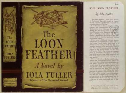 Dust Jackets - The loon feather : a nove