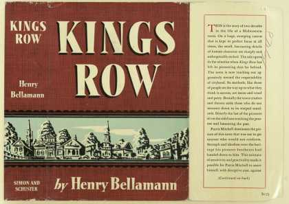 Dust Jackets - Kings Row / Henry Bellama
