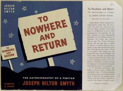 Dust Jackets - To nowhere and return : t