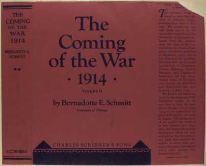 Dust Jackets - The coming of the war, 19