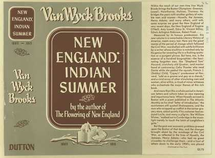 Dust Jackets - New England : Indian summ