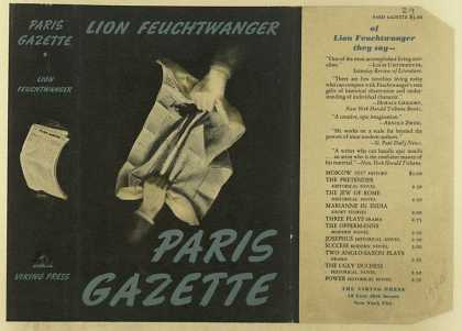 Dust Jackets - Paris gazette / by Lion F