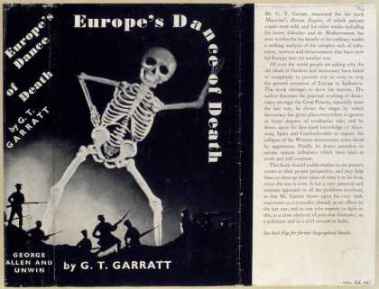Dust Jackets - Europe's dance of death /
