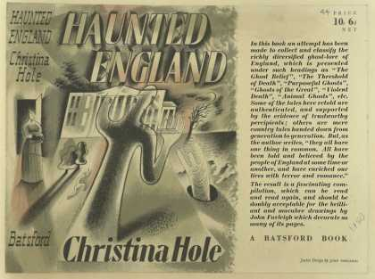 Dust Jackets - Haunted England.