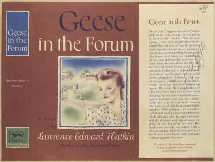 Dust Jackets - Geese in the forum.