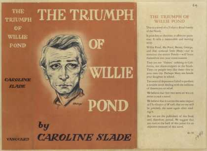 Dust Jackets - The triumph of Willie Pon