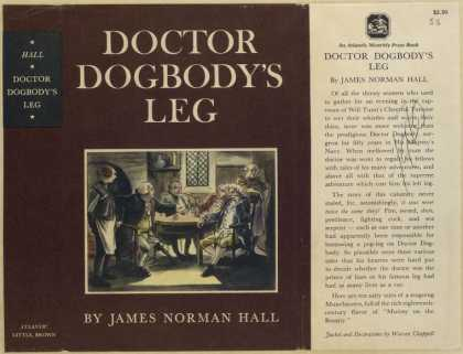 Dust Jackets - Doctor Dogbody's leg.
