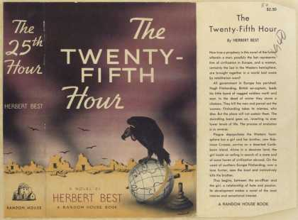 Dust Jackets - The twenty-fifth hour.