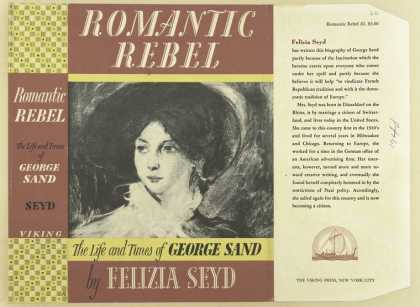 Dust Jackets - Romantic rebel the life