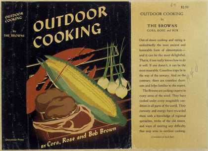Dust Jackets - Outdoor cooking.