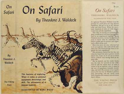 Dust Jackets - On safari.