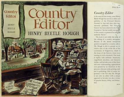 Dust Jackets - Country editor.