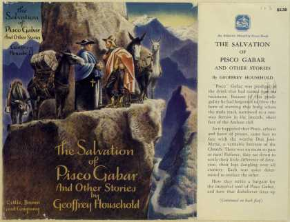 Dust Jackets - The salvation of Pisco Ga