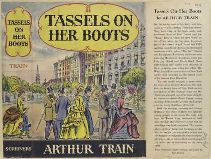 Dust Jackets - Tassels on her boots.
