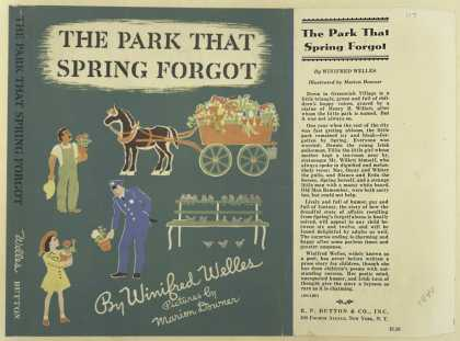 Dust Jackets - The park that spring forg