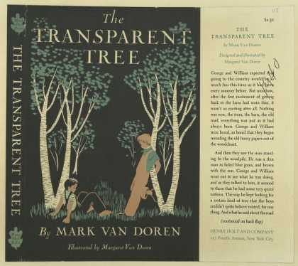 Dust Jackets - The transparent tree.