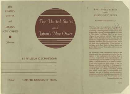 Dust Jackets - The United States and Jap