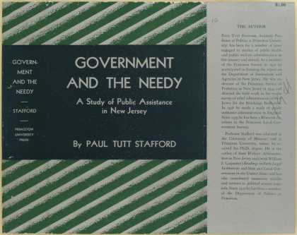 Dust Jackets - Government and the needy