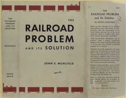 Dust Jackets - The railroad problem and